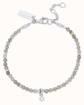 ChloBo Star Ruler Silver Labradorite Star Adjustable Bracelet 18-20.5cm SBLMC3058