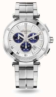 Michel Herbelin Newport Chrono Stainless Steel Bracelet 37688/B42