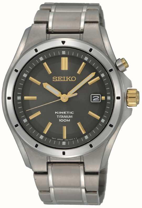 Seiko Mens Titanium Kinetic SKA495P1 - First Class Watches™ AUS 010e5a303