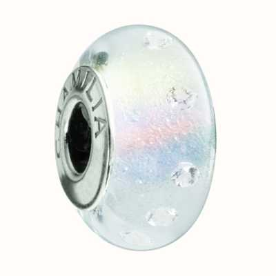 Chamilia Radiance Frosted White Charm OB-200