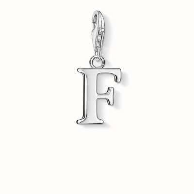 Thomas Sabo F Charm 925 Sterling Silver 0180-001-12