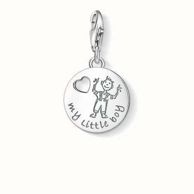 Thomas Sabo My Little Boy Charm 925 Sterling Silver 1057-001-12