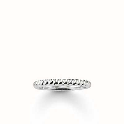 Thomas Sabo Ring 925 Sterling Silver 54 Size TR1978-001-12-54